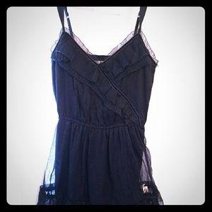A&F chiffon dress